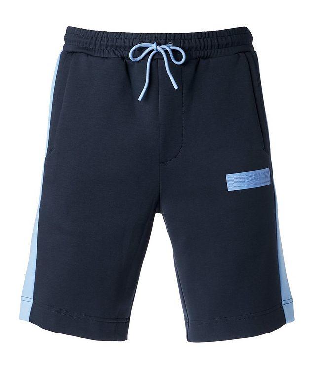 Drawstring Cotton-Blend Shorts picture 1