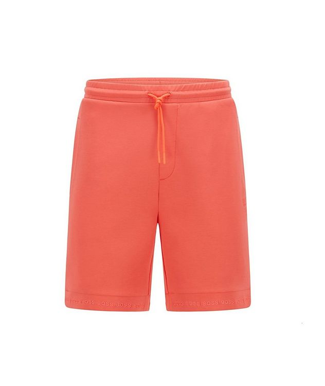 Drawstring Embroidered Logo Shorts  picture 1