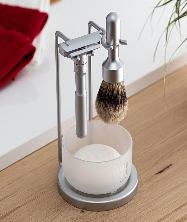 4pc Double Edge Safety Razor Shaving Set, Matte image 1