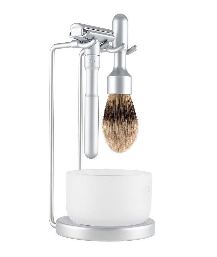 4pc Double Edge Safety Razor Shaving Set, Matte image 0