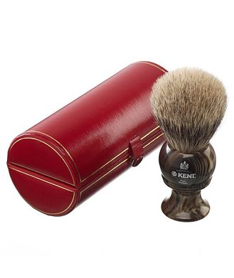 Kent K-H8 Horn Shaving Brush,  Large