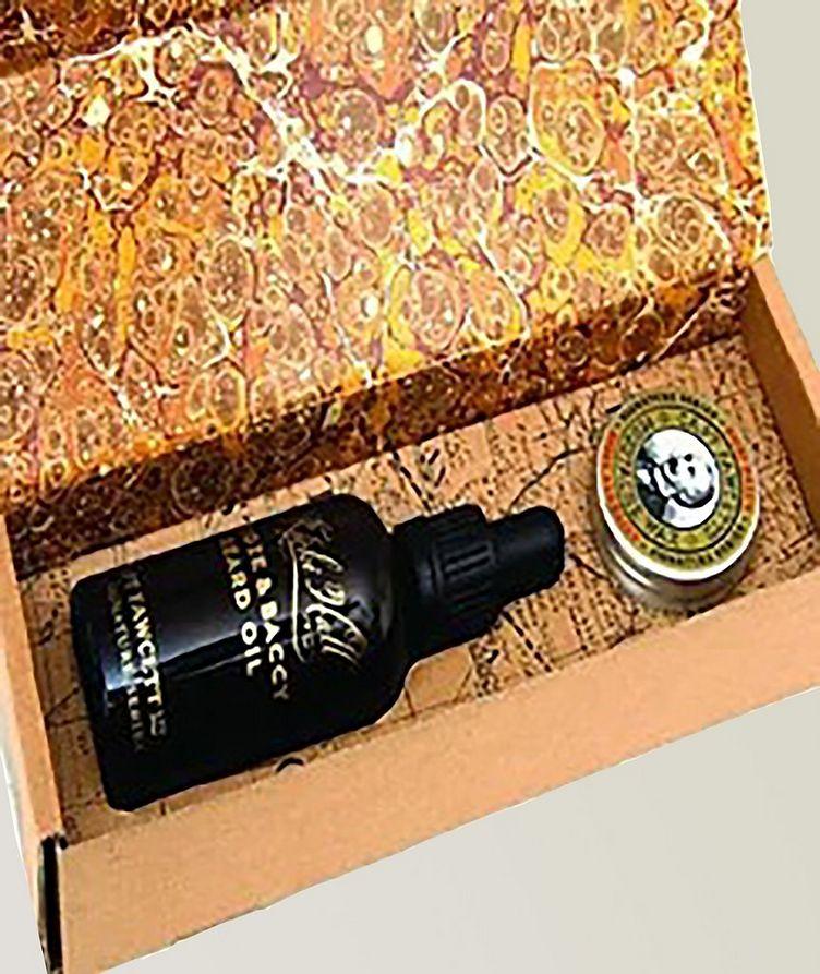 Wax and Beard Oil Gift Box image 0
