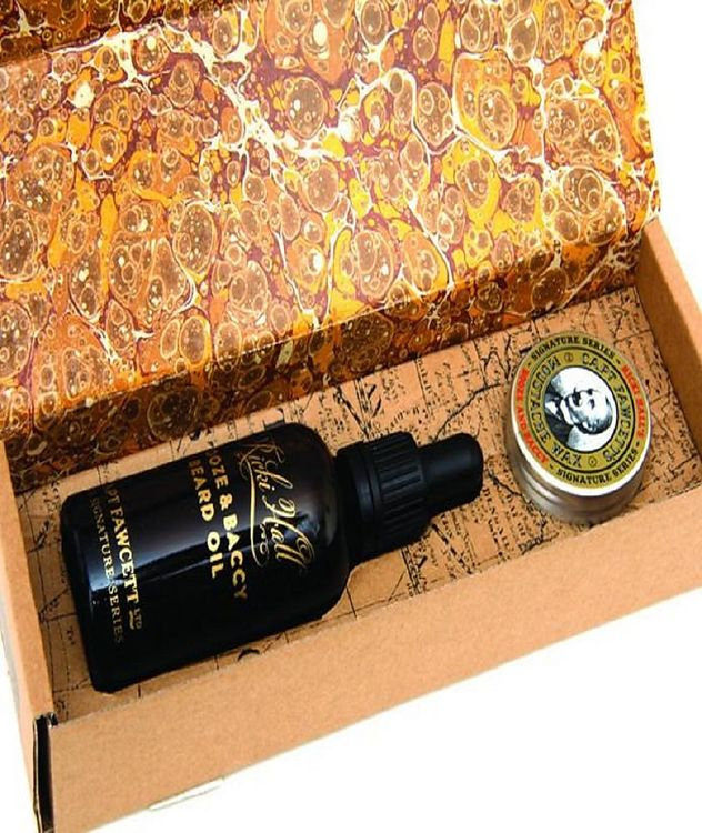Wax and Beard Oil Gift Box picture 1