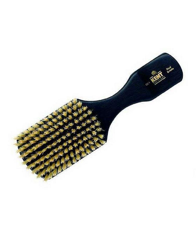 Rectangular Head Brush, White Bristles image 0