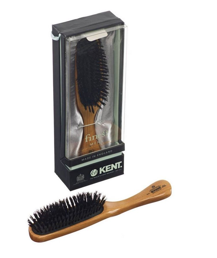 Rectangular Head Brush, Black Bristles image 2