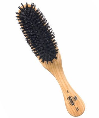 Kent Rectangular Head Brush, Black Bristles