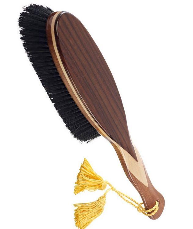 Large Clothes Brush, Pure Black Bristles picture 2