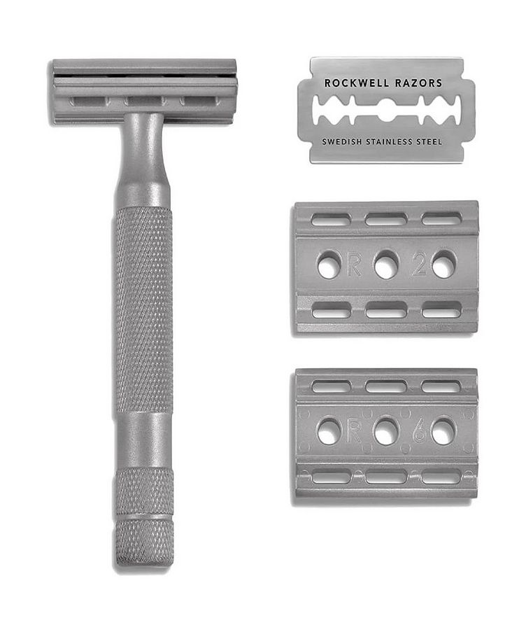6S Adjustable Stainless Steel Safety Razor image 0