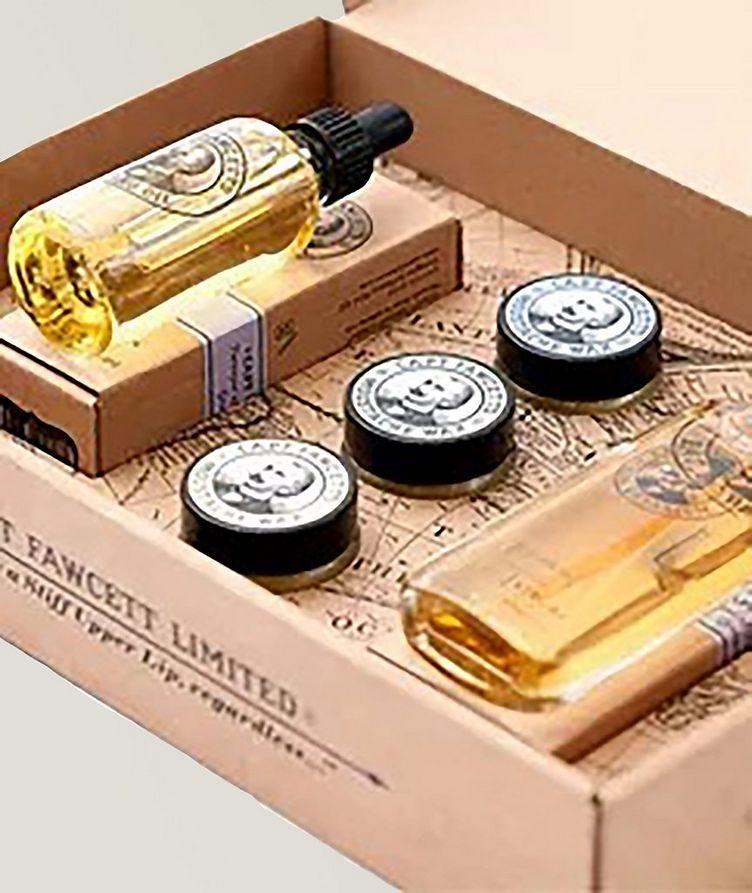 Perfum, Wax and Beard Oil Gift Set image 0