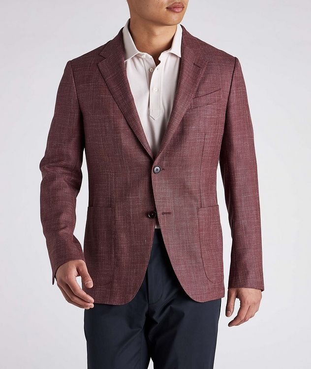 Milano Easy Wool, Silk, and Linen Sports Jacket picture 3
