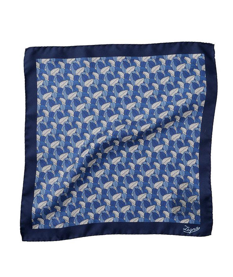 Floral Silk Pocket Square image 0