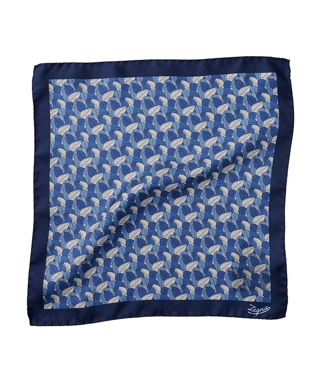 Floral Silk Pocket Square picture 1