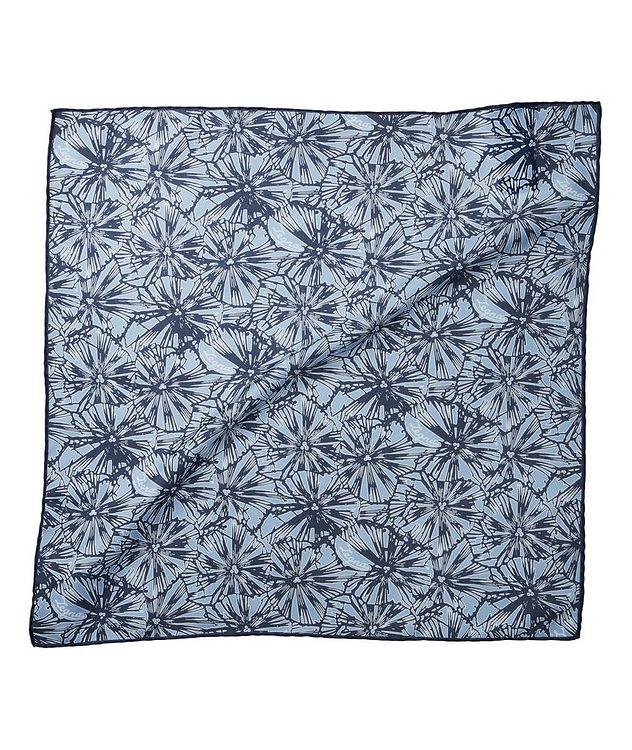 Jacquard Cotton-Silk Pocket Square picture 1