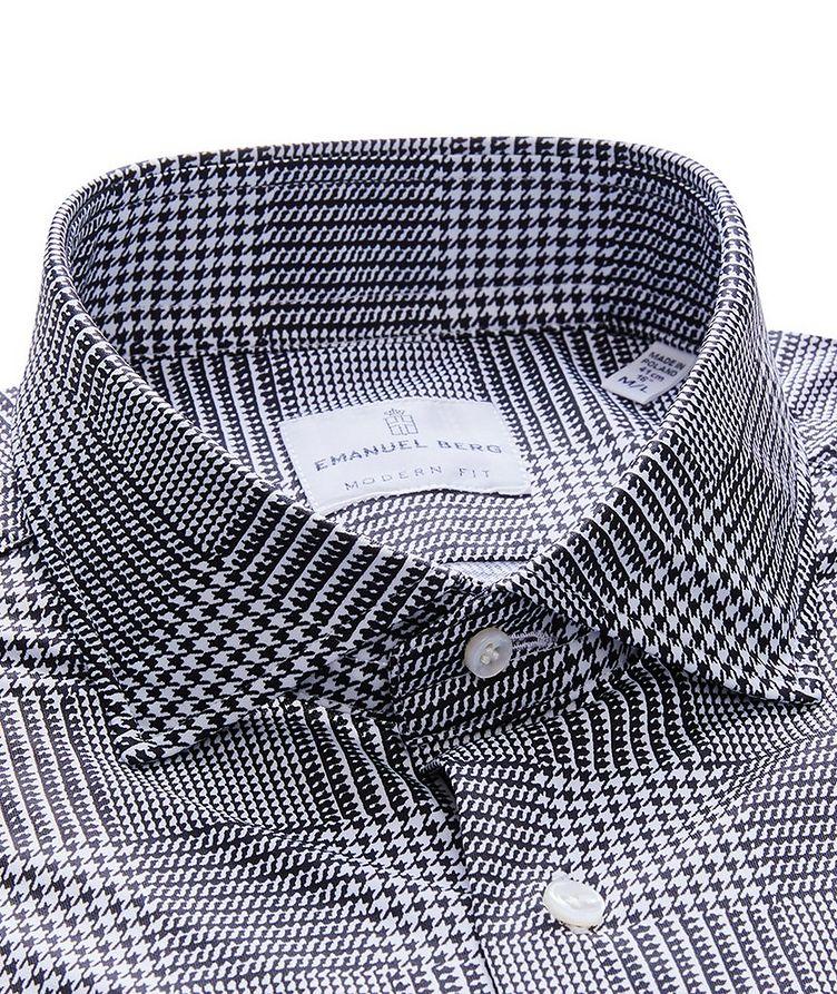 Byron Glen Plaid 4-Flex Stretch-Cotton Performance Shirt image 1