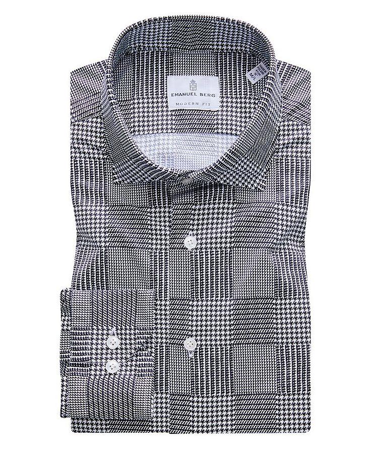 Byron Glen Plaid 4-Flex Stretch-Cotton Performance Shirt image 0