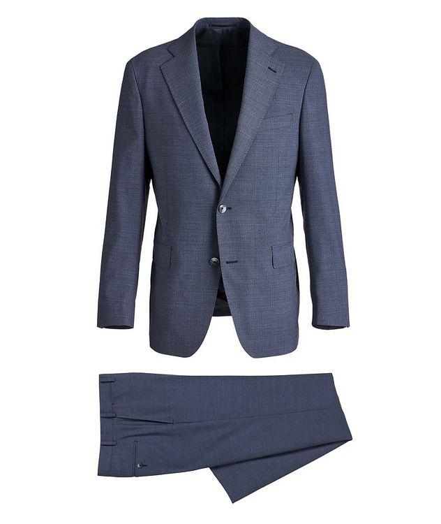 Slim-Fit Wool-Blend Suit picture 1