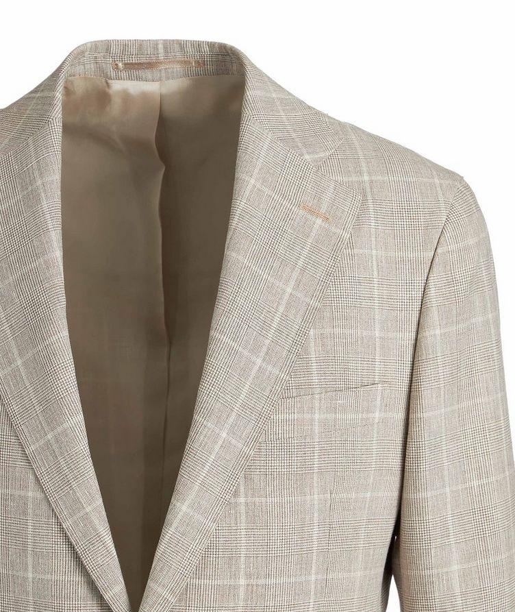 Complet en lin et laine de coupe amincie image 2