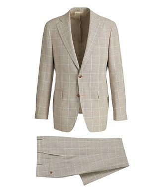 Atelier Munro Slim-Fit Linen-Wool Suit