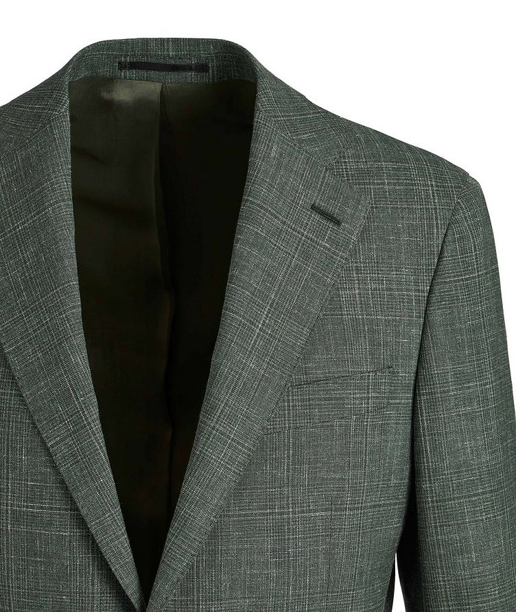 Slim-Fit Wool, Silk, and Linen Suit image 2