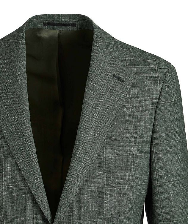 Slim-Fit Wool, Silk, and Linen Suit picture 3
