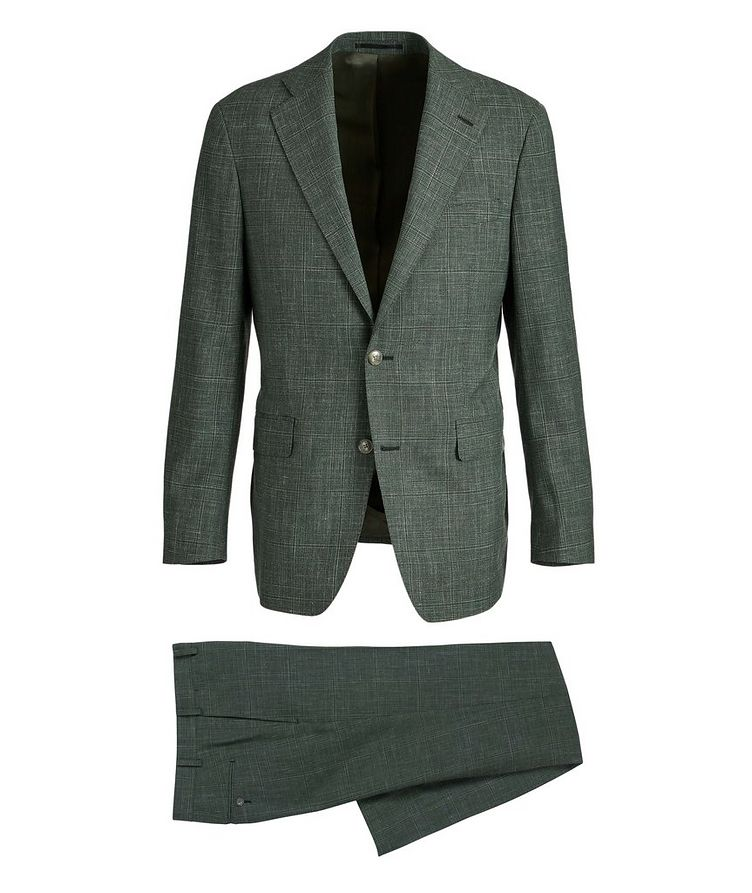 Slim-Fit Wool, Silk, and Linen Suit image 0