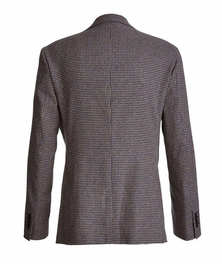 Mini-Check Stretch-Cotton Blend Sport Jacket image 1