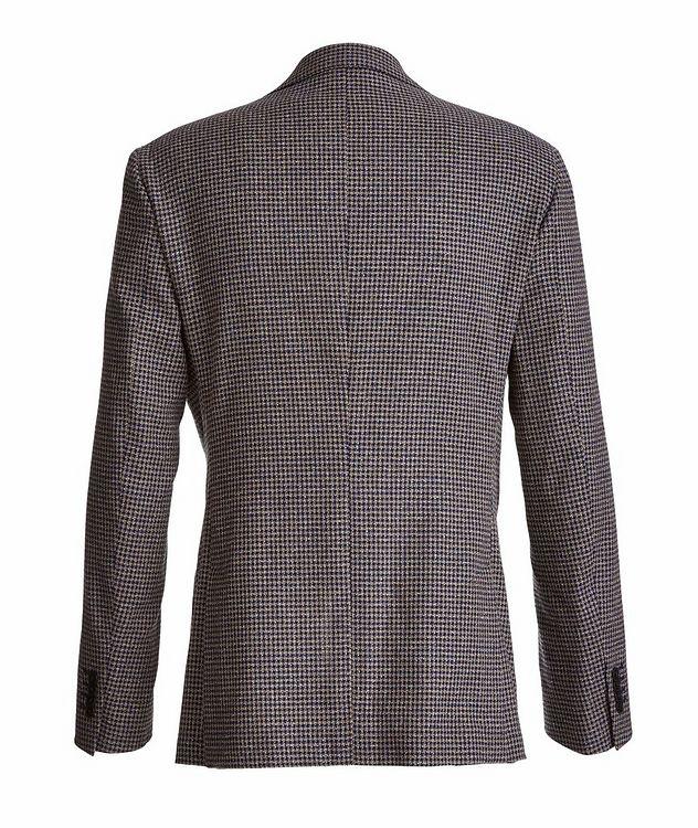 Mini-Check Stretch-Cotton Blend Sport Jacket picture 2