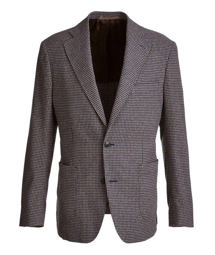 Mini-Check Stretch-Cotton Blend Sport Jacket image 0
