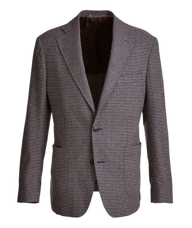 Mini-Check Stretch-Cotton Blend Sport Jacket picture 1