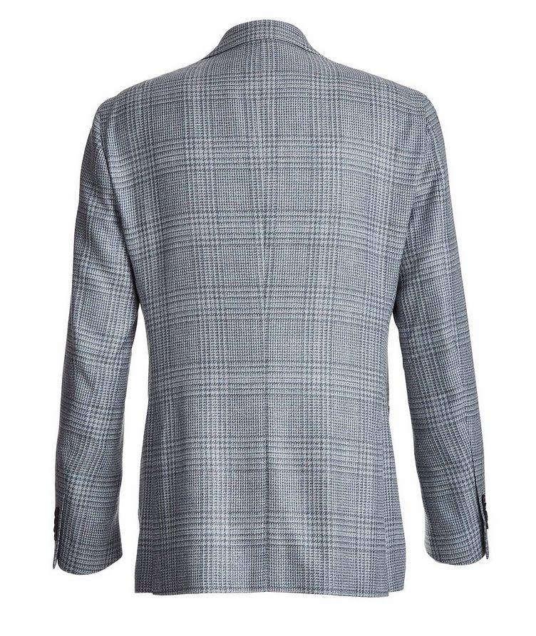 Plaid Wool-Silk-Linen Sport Jacket image 1
