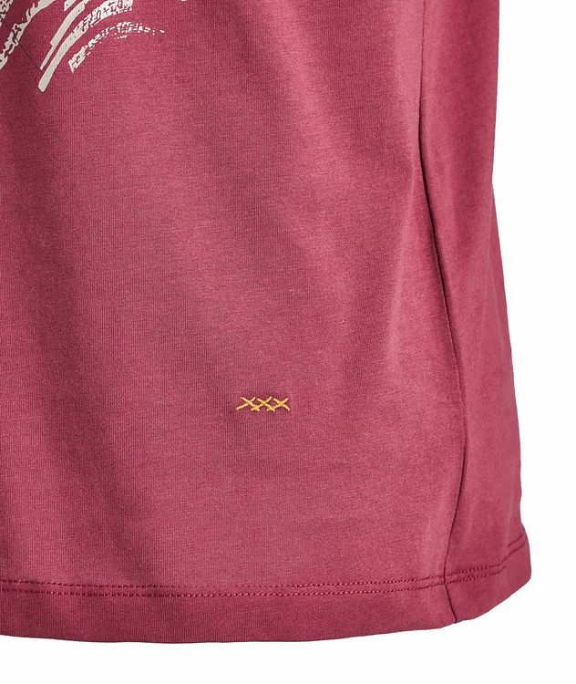 Couture Embroidered Cotton T-Shirt picture 2