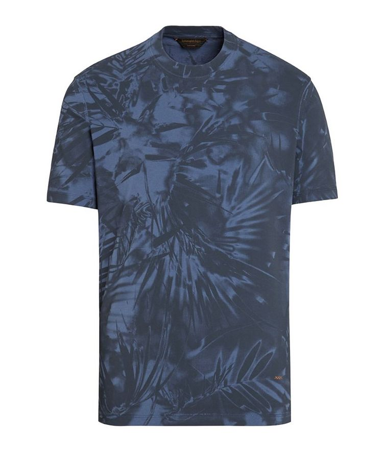Couture Printed Cotton T-Shirt image 0