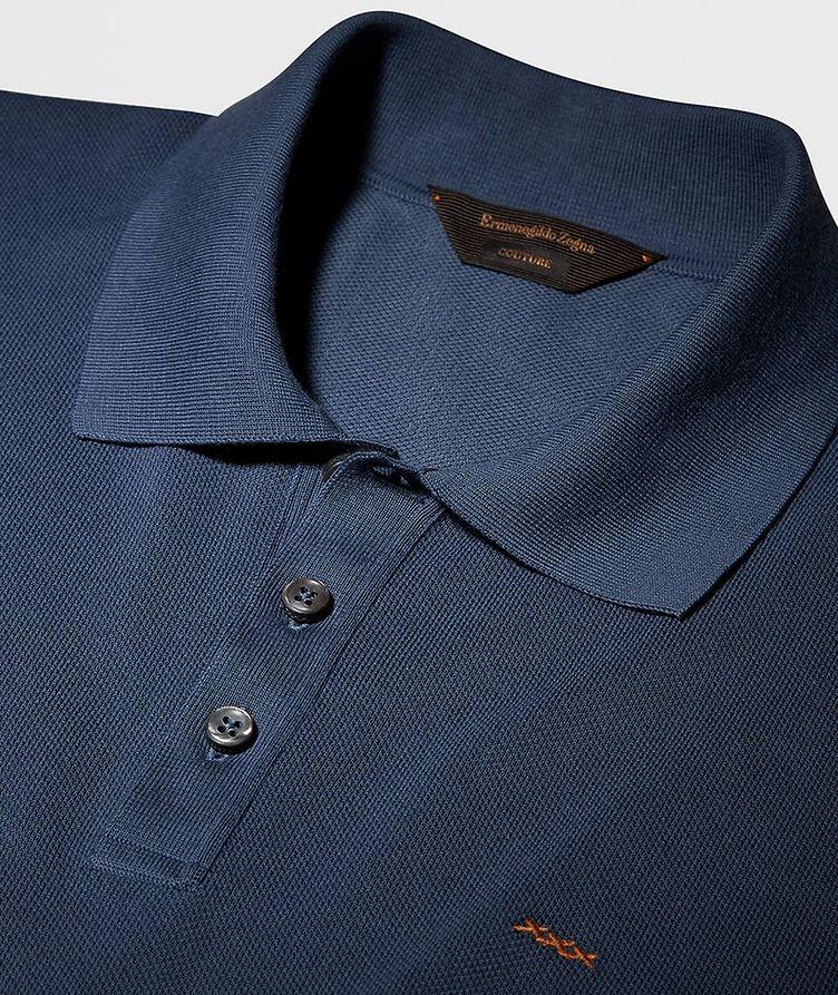 Couture Piqué Cotton Polo image 1