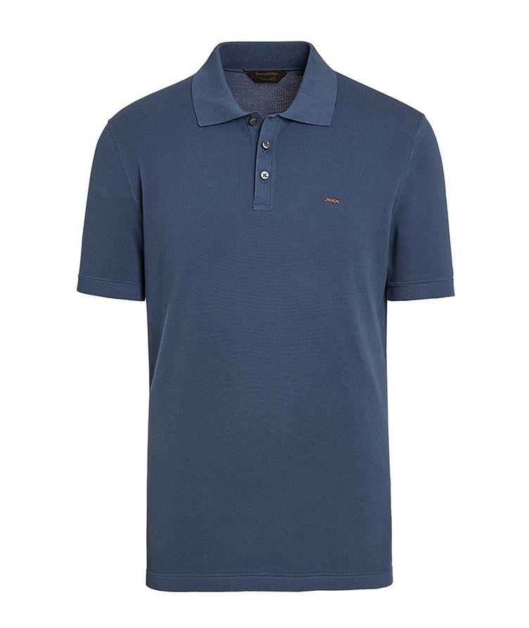 Couture Piqué Cotton Polo image 0