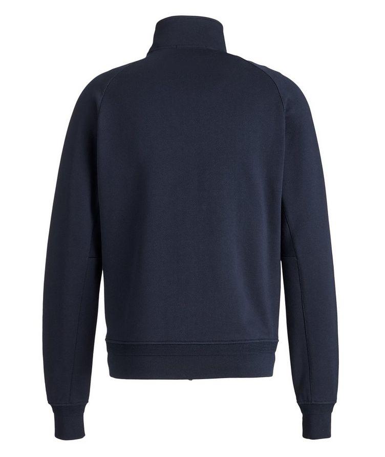 Cotton Zip-Up Sweater image 1