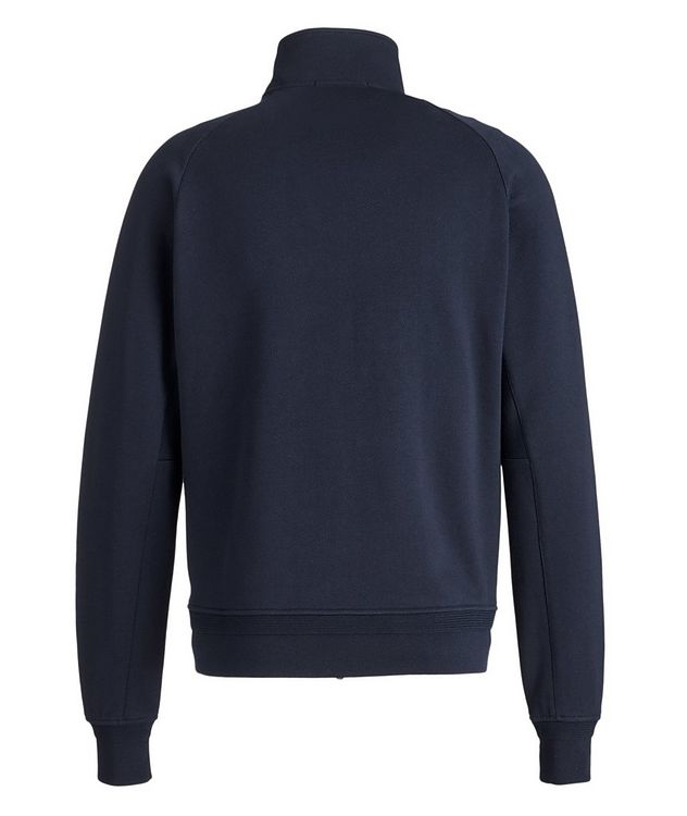 Cotton Zip-Up Sweater picture 2
