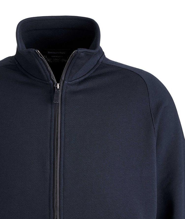 Cotton Zip-Up Sweater image 2