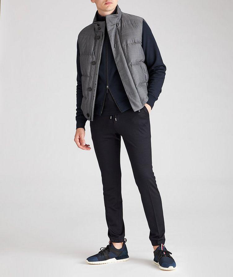 Cotton Zip-Up Sweater image 3
