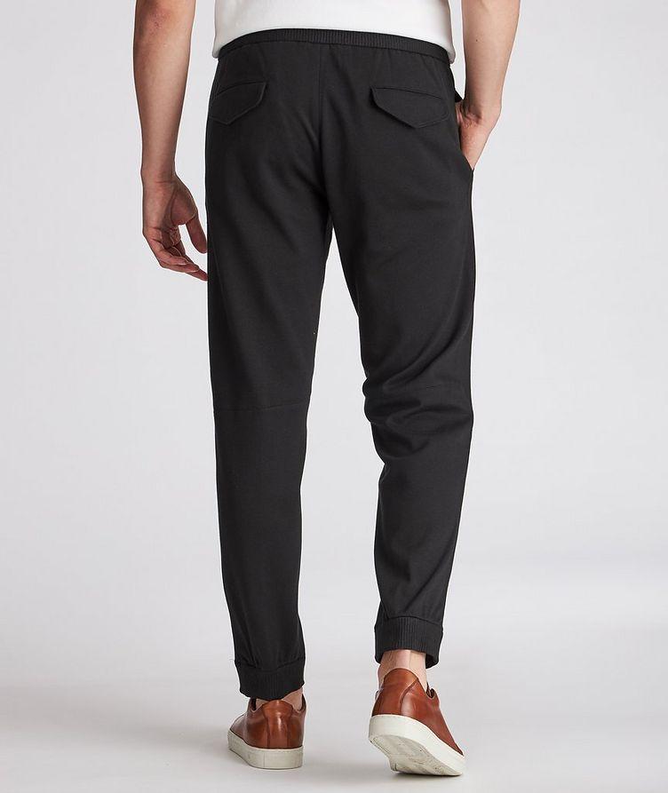 Cotton-Silk Jersey Drawstring Joggers image 2