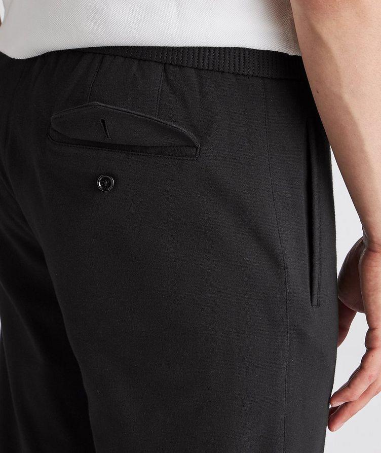 Cotton-Silk Jersey Drawstring Joggers image 3