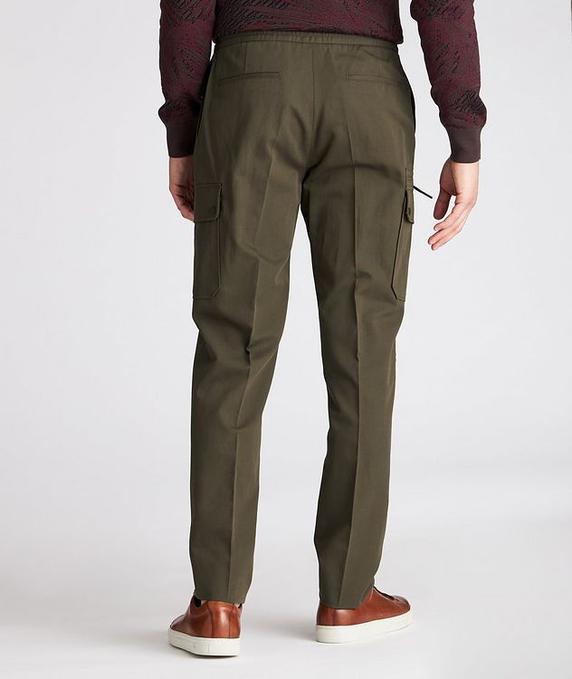 Cotton-Linen Cargo Joggers picture 3
