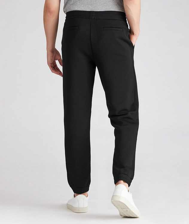 Stretch-Cotton Couture Drawstring Joggers picture 3