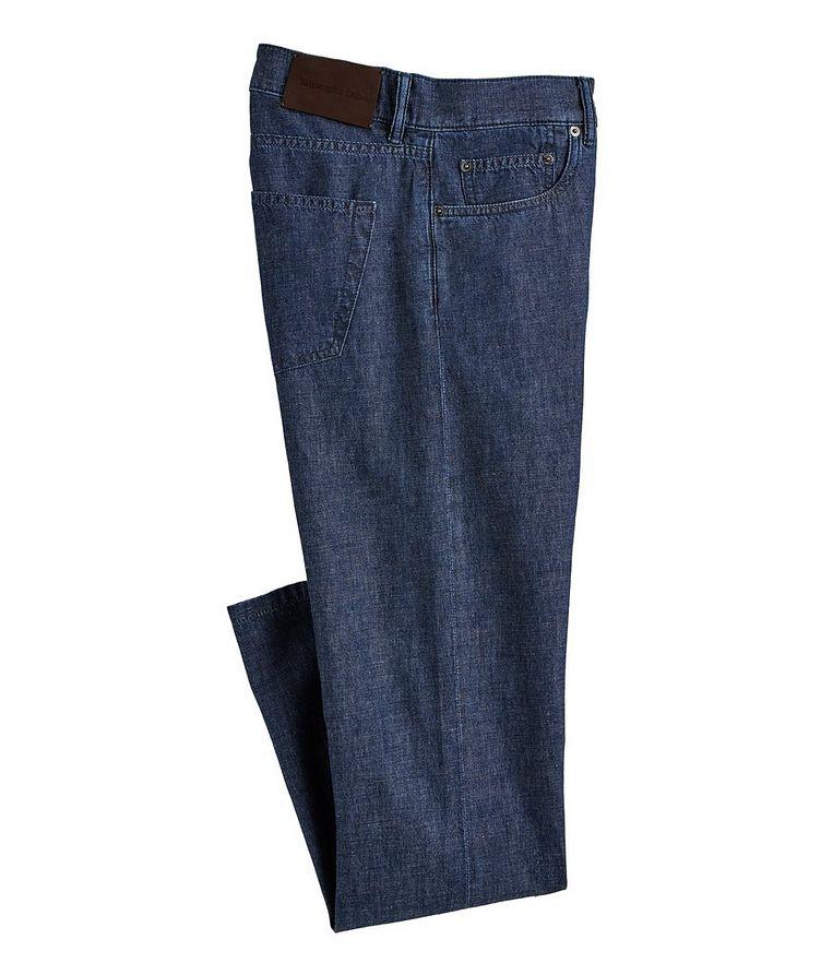 Cotton-Linen Jeans image 0