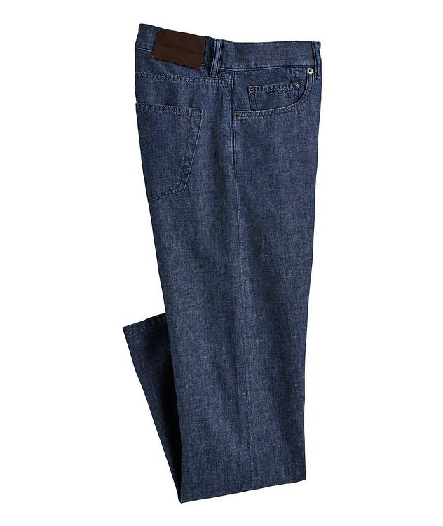 Cotton-Linen Jeans picture 1