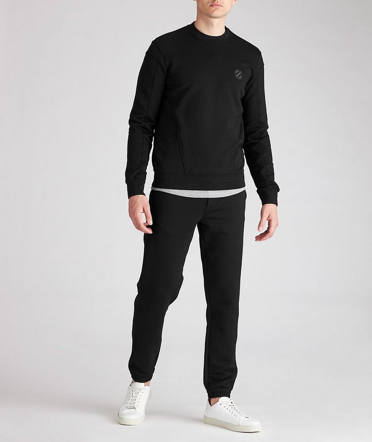 Stretch-Cotton Couture Sweatshirt image 2