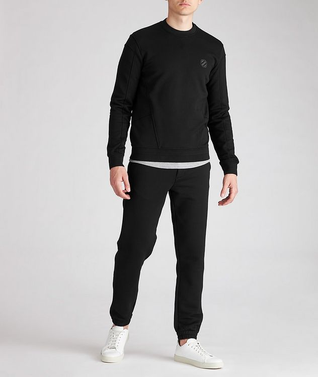 Stretch-Cotton Couture Sweatshirt picture 3