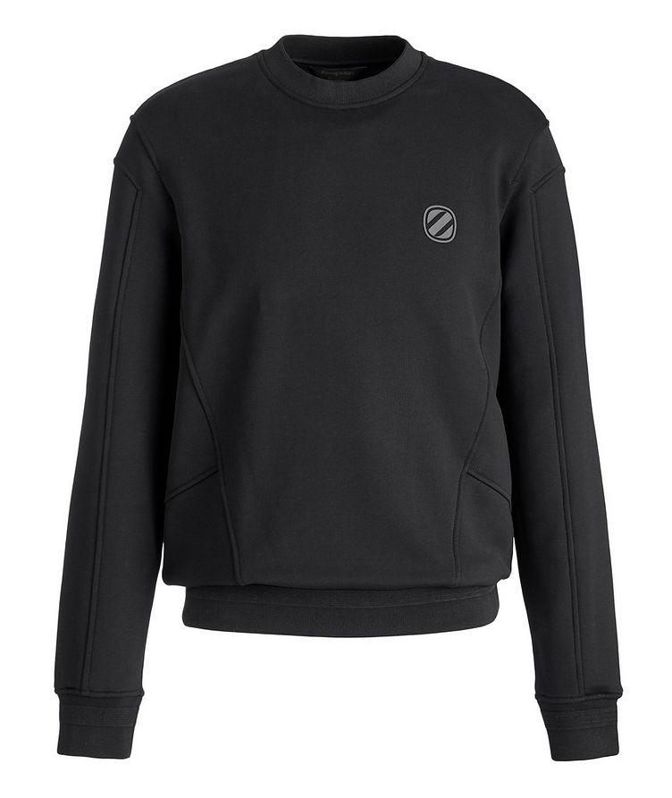 Stretch-Cotton Couture Sweatshirt image 0