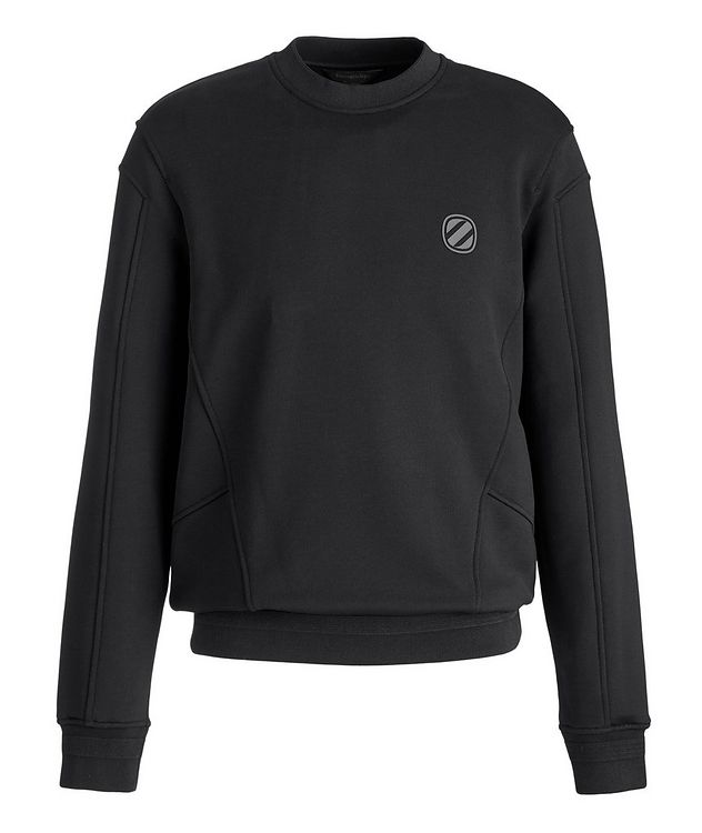 Stretch-Cotton Couture Sweatshirt picture 1