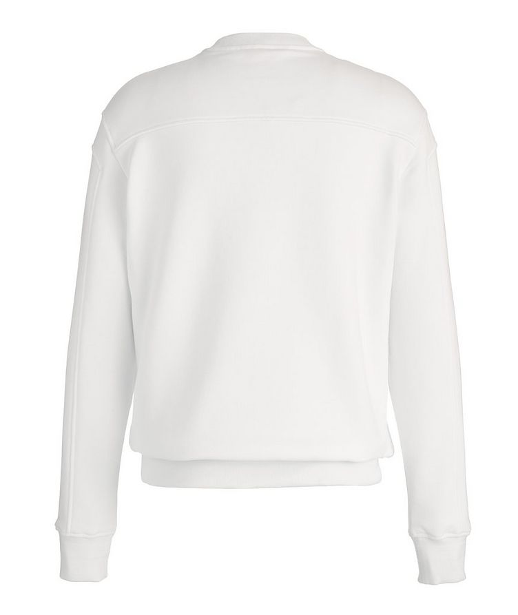 Stretch-Cotton Couture Sweatshirt image 1
