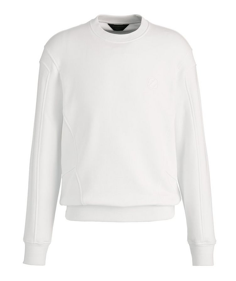 Stretch-Cotton Couture Sweatshirt image 0